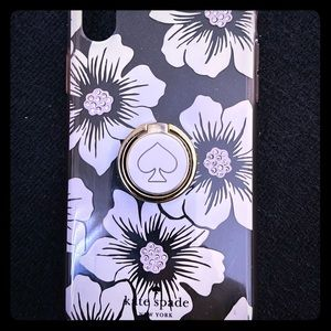 Kate Spade ♠️ IPhone XR case with phone ring